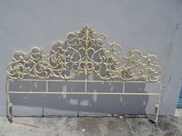White Wrought Iron King Size Headboards by King Metal Headboards Enchanting Metal Headboard King Wrought Iron