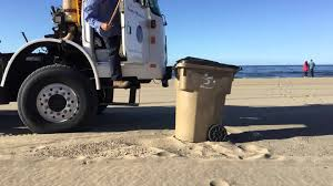 Waste Management Christmas Tree Pickup Santa Maria by City Of Santa Monica Heil Beach Rapid Rail Garbage Truck Youtube