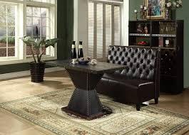chesterfield sofa bank sitzbank braun wartezimmer wohnzimmer büro sofas