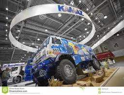 MOSCOW, SEP, 5, 2017: View On Kamaz Mud Race Off-road Truck Exhibit ...
