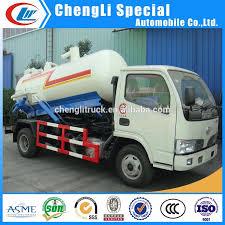 4ton Septic Sewage Truck 6-wheel Sewer Tanker 4m3 Septic Tank Trucks ...