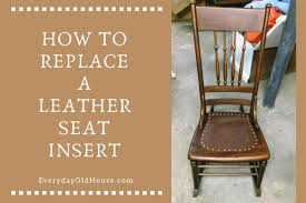 How To Replace A Leather Seat In An Antique Chair - Everyday ... Vintage Used Antique Rocking Chairs For Sale Chairish Learn To Identify Fniture Chair Styles 1890s Amish With Cane Back And Upholstered Seat Fding The Value Of A Murphy Thriftyfun Stickley Arts Crafts Mission Style Oak Rocker Murphys Rocking Chairgrandparents Had One I Casual Ding Brown Cushion Wood Metal Rolling Caster Serta Upholstery Monaco Wing Rotmans Hay Llrocking Chairnordic Style Design Chair How Replace Leather In An Everyday Solid Oak Carver Ding Room Hall Bedroom Vintage With Arms Carryduff Belfast Gumtree