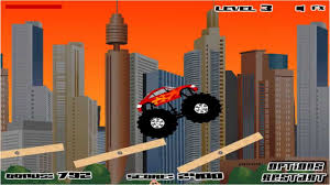 100 Monster Truck Destroyer Games All 12 Levels YouTube