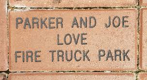 Paver Bricks 4″ X 8″ – $500 » Southside Place Fire Truck Park Fund