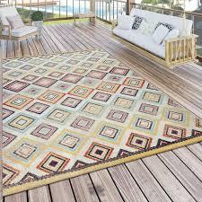 outdoor teppich ethno design bunt outdoor teppich teppich