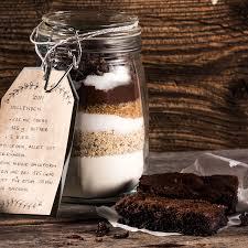 kuchen backmischung im glas für schoko brownies