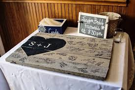 Lovable Rustic Wedding Guest Book 9