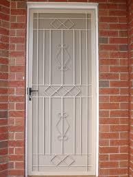 Cool Metal Security Screen Doors with Metal Security Screen Door