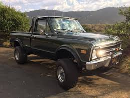 1968 Chevrolet C10 For Sale #2004258 - Hemmings Motor News 1972 Chevy Stepside Pickup Truck Trucks Customer Cars And For Sale The Crate Motor Guide For 1973 To 2013 Gmcchevy Gmc Chevy K 10 Short Bed Step Side 4x4 4 Speed California 2018 Silverado 1500 Chevrolet Used 2500hd Lt 4x4 In Pauls Lifted Lease Deals Price Ccinnati Oh Short Barn Find C10 Custom Valley Beautiful Image Result 1971 Alva Vehicles