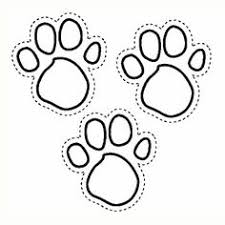 Blues Foot Prints Clues Coloring Pages