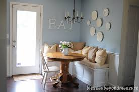Charming Kitchen Dining Decoration Design With Banquette Seating Ideas Creative Room