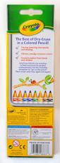 Crayola Bathtub Crayons Collection by 8 Count Crayola Washable Dry Erase Colored Pencils What U0027s Inside