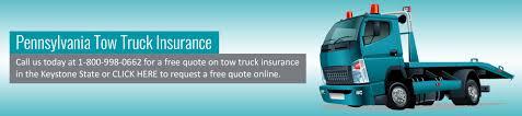 Tow Truck Insurance Pennsylvania