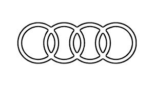 How to Draw the Audi Logo symbol emblem