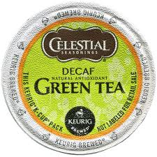 Celestial Seasonings R Decaffeinated Green Tea K Cup Pods 24ct