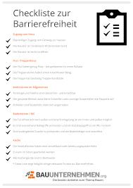barrierefreies bauen planung förderung und checkliste zur