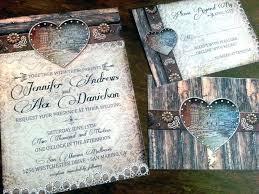 Rustic Wedding Invitations Cheap Vintage Template