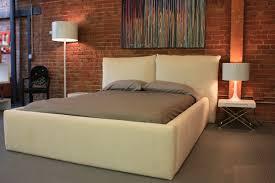 King Size Platform Bed With Headboard by Bedroom Queen Metal Frame Modern Platform Bed King White