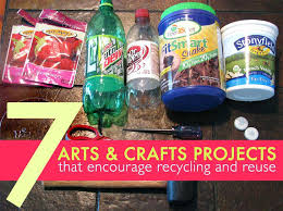 Recycled Art Projects For Kids Recycle Recycling Crafts Children Craft