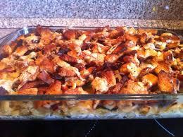 gratin de pâtes courgettes chorizo croûtons et munster recette