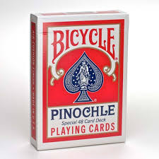 deck pinochle 4 player bicycle pinochle cards bicycle cards