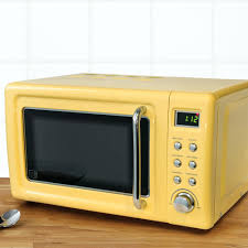 Retro Blue Breakfast Center Toaster Oven Image Sink And