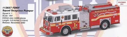 Code 3 FDNY Squad 1 Seagrave Pumper (12657) Code 3 Fdny Squad 1 Seagrave Pumper 12657 Custom 132 61 Pumper Fire Truck W Buffalo Road Imports Tda Ladder Truck Washington Dc 16 Code Colctibles Trucks 15350 Pclick Ccinnati Oh Eone Rear Mount L20 12961 Aj Colctibles My Diecast Fire Collection Omaha Department Operations Meanstreets The Tragic Story Of Why This Twoheaded Is So Impressive Menlo Park District Apparatus Trucks Set Of 2 164 Scale 1811036173