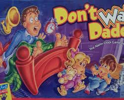 Dont Wake Daddy Childrens Board Game Cover