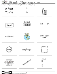 Halloween Brain Teasers Worksheets by Fun Worksheets Brain Teasers Pinterest Fun Worksheets