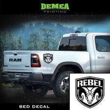 100 Ram Truck Decals Amazoncom Dodge RAM Rebel 2X Bed DecalSticker Matte