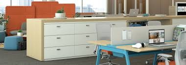 Meridian Lateral File Cabinet Dividers by X Series Storage Haworth