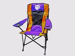 Clemson Tigers Large High Back Chair Folding Tailgate Chair With ... Ncaa Chairs Academy Byog Tm Outlander Chair Dabo Swinney Signature Collection Clemson Tigers Sports Black Coleman Quad Folding Orangepurple Fusion Tailgating Fisher Custom Advantage Zero Gravity Lounger Walmartcom Ncaa Logo Logo Chair College Deluxe Licensed Rawlings Deluxe 3piece Tailgate Table Kit Drive Medical Tripod Portable Travel Cane Seat
