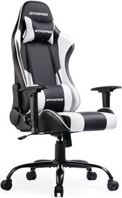 GTPOFFICE Gaming Chair Reclining Office Computer Desk Chairs High Back For  Adult Adjustable Swivel With Headrest And Lumbar Support Cushion(White) Umi By Amazon Gaming Chair Office Desk With Footrest Computer Chairs Ergonomic Conference Executive Manager Work Pu Leather High Back Merax Racing Recling For Gamers Pc Racer Large Home And Fabric Design Adjustable Armrests Musso Camouflage Esports Gamer Adults Video Game Size Highback Von Racer Big Tall 400lb Memory Foam Chairadjustable Tilt Angle 3d Arms X Rocker 5125401 21 Wireless Bluetooth Audi Pedestal Blackred Review Ultigamechair Dowinx Style Recliner Massage Lumbar Support Armchair Esports Elecwish Widen Thicken Seat Retractable Gtracing Speakers Music Audiopanted Heavy Duty Gt890m Respawn900 In White Rsp900wht Respawn200 Performance Mesh Or Rsp200blu