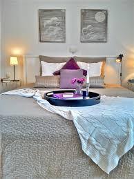 eine farbkombi 6 styles schlafzimmer in violett natur weiß