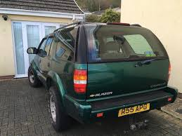 4.3 CHEVROLET BLAZER ESTATE TRUCK, GREEN - AUTOMATIC!!(2000) QUICK ...
