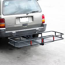 100 Hitch Truck 60 Folding Car Cargo Carrier Basket Luggage Rack Travel