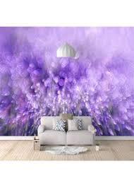 zggdyy fototapete 3d tapeten schöne lila blumen 3d effekt