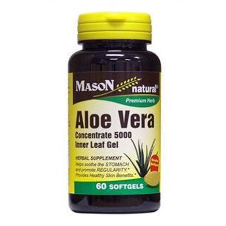 Mason Natural Aloe Vera Herbal Supplement - 100ct
