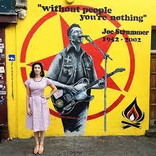 Joe Strummer Mural Address by Subculture Clash Words By Fleur