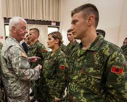 NJ Army Guard begins historic first Albanian ficer Candidate