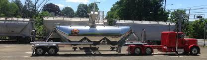 100 Ct Trucking Palumbo Dry Bulk Rail Transfers