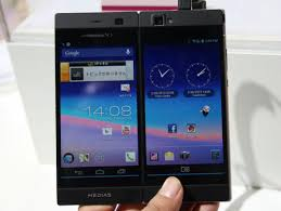 The NEC Medias W N 05E Dual Screen Android Smartphone