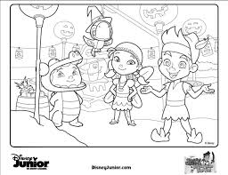 Free Download Coloring Disney Junior Printable Pages On Book Eassume