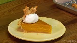 Pumpkin Pie With Gingersnap Crust Gluten Free by Pumpkin Pie Spectacular Recipe Myrecipes