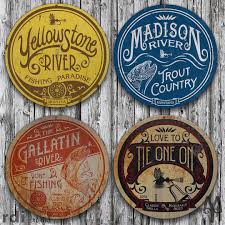 Vintage Yellowstone River, Wall Sign | Vintage Signs, Decorative ... Wall Decor Modern Barn Stars Metal Hover Word Signs Charming Best 25 Rustic Barn Homes Ideas On Pinterest Houses Farm Beautiful Signs Maple Lane Unique Red Creations Business Custom All To Your By Alabama Art Sign Decor Ranch Cowboy Ranch No Solicitors Sign For Front Door Gun Metal In Michigan Triple J Ductwork Horse Wood Welcome This Oneofakind Wall