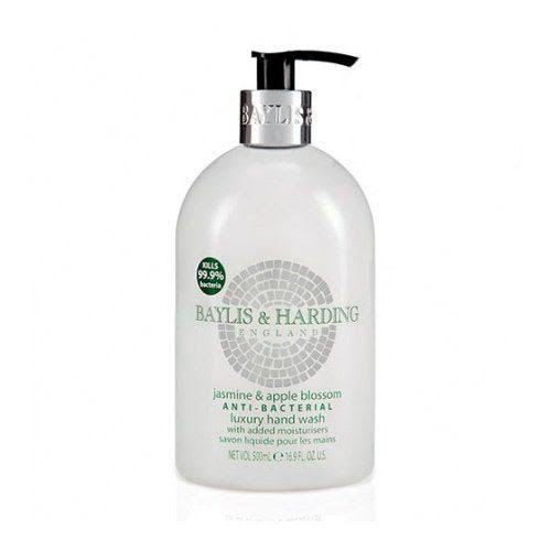 Baylis and Harding Anti-Bacterial Hand Wash - Jasmine and Apple Blossom, 500ml
