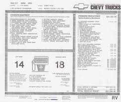 100 Chevy Truck Vin Decoder Chart Gmc The GMC Car