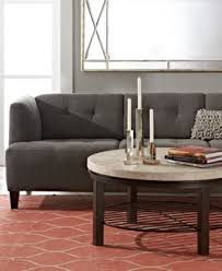 Alessia Leather Sofa Living Room by 19 Sofas Living Room Sets Macy U0027s Alessia Leather Sofa Living Room