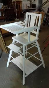 Vintage White Painted Metamorphic High Chair Napoonrockefellercom Colctables Vintage And Painted Fniture Antique High Chair Lesleigh Frank Vintage Highchair With A Modern Bling Twist Trade Me Hello Dolly Handpainted Wood Highchair With Baby Crib Mattress Dollhouse Nursery 112 Scale Professionally Painted Wooden High Chair Jenny Lind Antique Highchair White 46999291 In Ascp Duck Egg Blue My Danish Modern Chrome Drafting Accent Ansley Designs Gold White Metamorphic