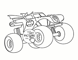 Bulldozer Monster Truck Coloring Pages | Free Coloring Pages For Kids